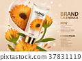 Calendula hand cream ads 37831119