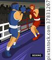 combat sport - boxing 37831267