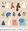 Adorable animals set 37831393