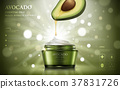 Avocado cream ads 37831726