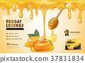 Honey lemon throat lozenge 37831834