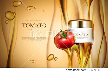 Tomato cosmetic ads 37831909
