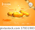 Fish oil ads template 37831983