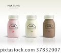 Milk bottle template design 37832007