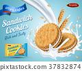 milk flavor cookie ad 37832874
