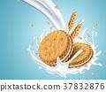 milk flavor cookies 37832876