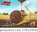 Chocolate digestive biscuits ad 37832909
