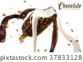 Chocolate ice cream bar ads 37833128