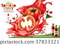 ad, juice, tomato 37833321