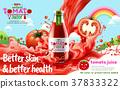 ad, juice, tomato 37833322