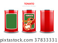 Tomato juice or sauce package 37833331