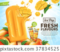 Fresh mango ice pop ads 37834525