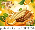 Orange wafer ads 37834756