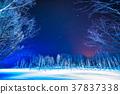 """บ่อน้ำสีฟ้า """"ฮอกไกโด"""" ส่องสว่าง Bieicho 37837338"""