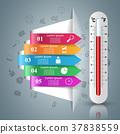溫度計 溫度 向量 37838559