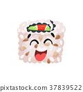 寿司 卷 矢量 37839522