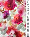floral, flower, watercolor 37839674