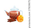 tea, herbal, glass 37839675