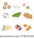 和果子 日本糖果 日式甜點 37840398