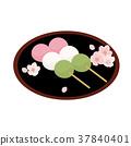 일본식 과자, 일본 과자, 경단 37840401