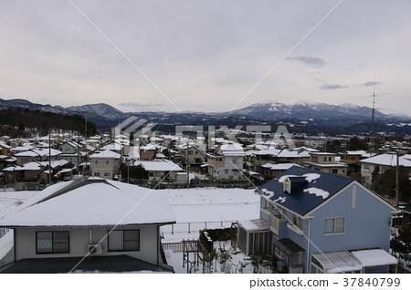 눈의 주택지 37840799