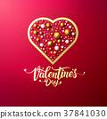 typography, day, valentine 37841030
