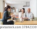男性夫婦中等財政保險房地產計算機業務女商人 37842330