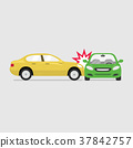 Car crash and accidents. 37842757