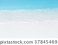 Panorama of beach and sea view 37845469