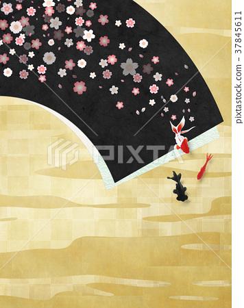 樱花 樱桃树 背景 37845611