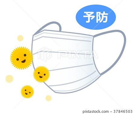 面膜和花粉 37846503