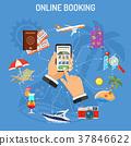 Online Booking Hotel 37846622
