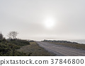 Misty coastal countryside view 37846800