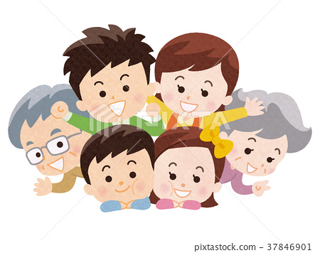好朋友三代家庭 37846901