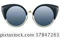 sunglasses metal blue 37847263
