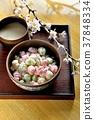 Hinaarare, sweet sake, cherry blossom / spring Hinamatsuri 37848334