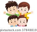 父母身份 父母和小孩 家庭 37848819