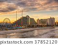 Skyline of Daytona Beach, Florida 37852120