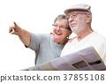 年邁的 夫婦 一對 37855108