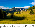 Rural Landscape with Mountains in Austria 37855779
