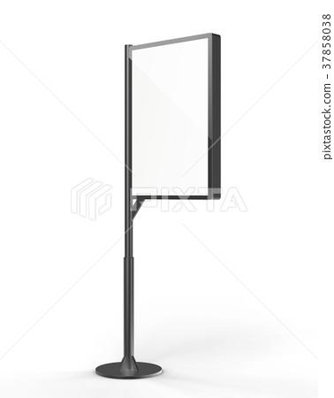 Street stand lightbox template 37858038