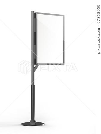 Street stand lightbox template 37858059