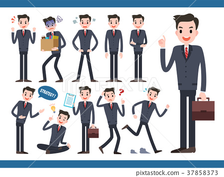 Businessman character collection 37858373