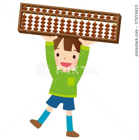算盤課堂兒童的課程 37859820