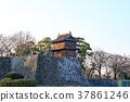 街景 노을 마이즈 루 공원 구장에서 보는 기념 망루 후쿠오카시 주 오구 37861246