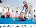 Women, taekwondo, trainings 37866611