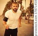 Running man, jogging 37871450