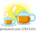 ชา,ถ้วยชา,เวลาน้ำชา 37872352
