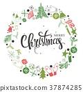 christmas, mittens, snowflake 37874285