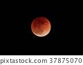 Total lunar eclipse-Blood Moon- 37875070